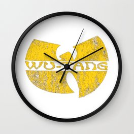 cracked wu tang Wall Clock