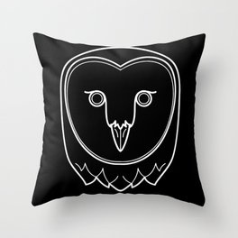 Owl The Magnus Archives Throw Pillow