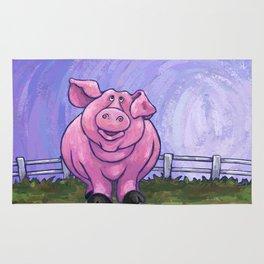 Animal Parade Pig Rug