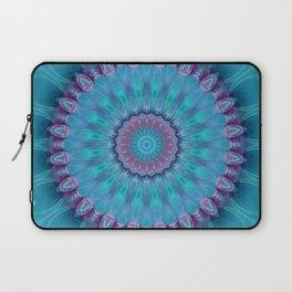 Mandala turquoise no. 2 Laptop Sleeve