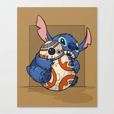 Chew Toy Canvas Print