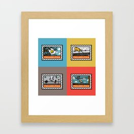 Philthy Framed Art Print