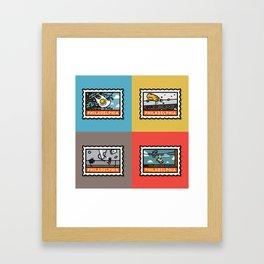 Philthy Framed Art Print