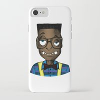nerd iPhone & iPod Cases featuring Nerd by DeMoose_Art