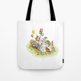 Birthday Party Picnic Tote Bag