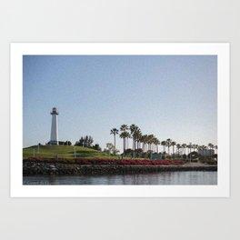 Long Beach Art Print