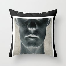 My head is a dark room, where I develop negatives. Throw Pillow