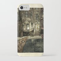 rat iPhone & iPod Cases featuring Rat by Jordan Walsh