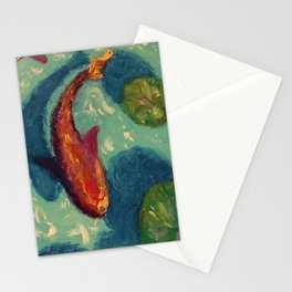 Coy Pond Stationery Cards