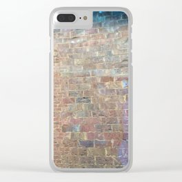Brick Cloudburst Clear iPhone Case