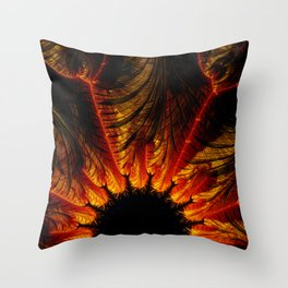 Unbridgeable Chasm-x Throw Pillow