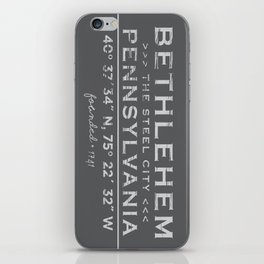 Bethlehem, Pennsylvania iPhone Skin