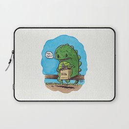 """""""lunch in the city"""" Laptop Sleeve"""