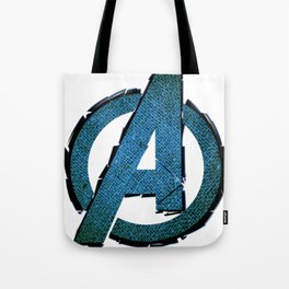 UNREAL PARTY 2012 AVENGERS LOGO FLYERS Tote Bag