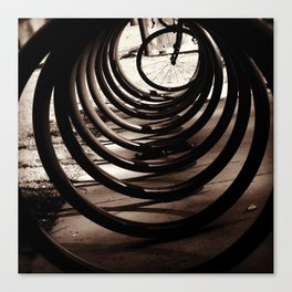 Bike Circles Canvas Print