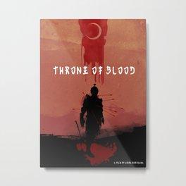 Throne of Blood Metal Print