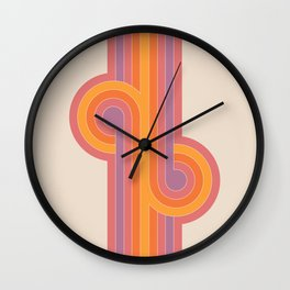 Boca Looper Wall Clock