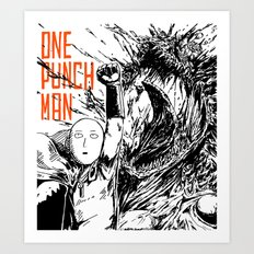 Punch Art Print
