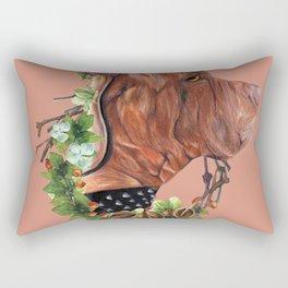 Flower puppy Rectangular Pillow