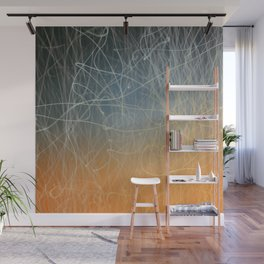 Fire sparks pattern Wall Mural