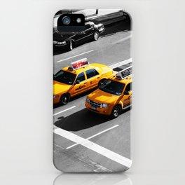New York Cabs. iPhone Case