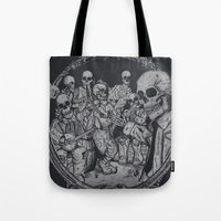 occult Tote Bags featuring An Occult Classic by Dega Studios