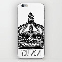You.Wow! iPhone Skin