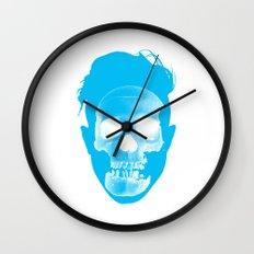 Hipster Head Wall Clock