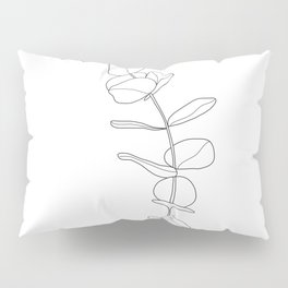 Minimal Hand Holding the Branch I Pillow Sham