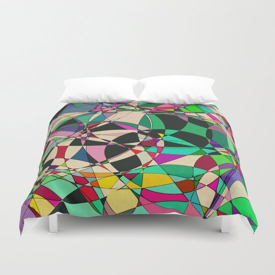Loop De Loop Duvet Cover