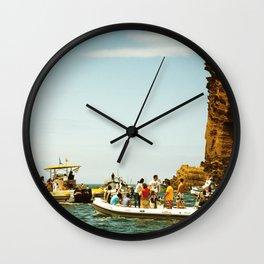 Summer nostalgia Wall Clock