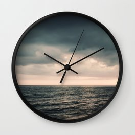 Dark and Light Wall Clock