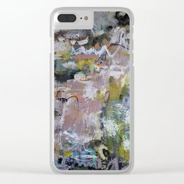 She carved her own niche Clear iPhone Case