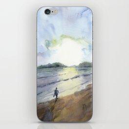 Lankian sunset iPhone Skin
