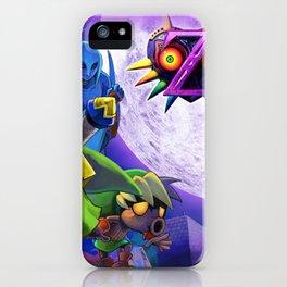 The Legend Of Zelda- Majora Mask iPhone Case