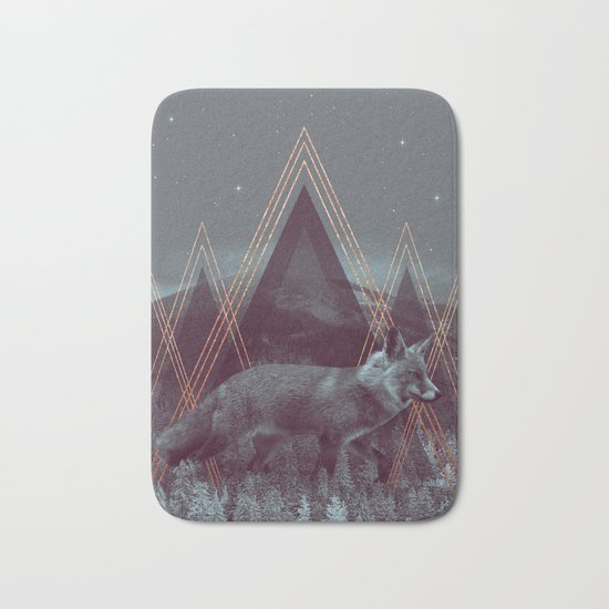 In Wildness | Fox Bath Mat