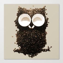 Hoot! Night Owl! Canvas Print