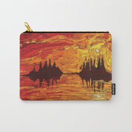 Raging Sunset Carry-All Pouch