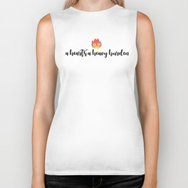 CALCIFER - A Heart's A Heavy Burden Biker Tank