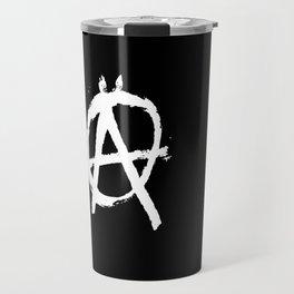 Anarchy Anarchists Black Travel Mug