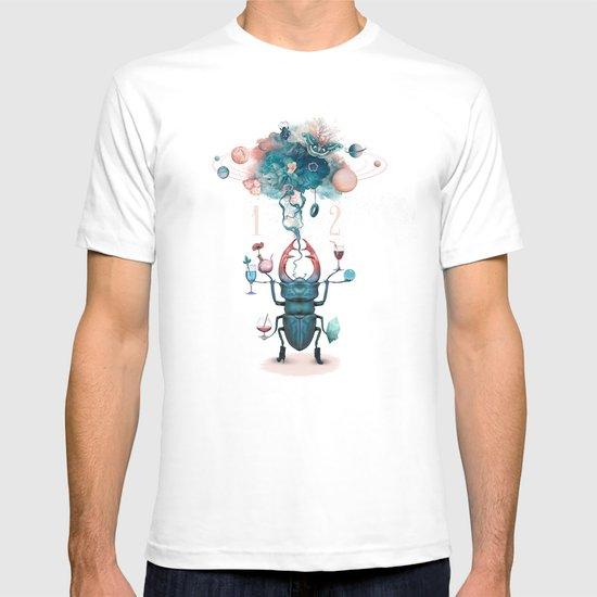 funny beetle T-shirt