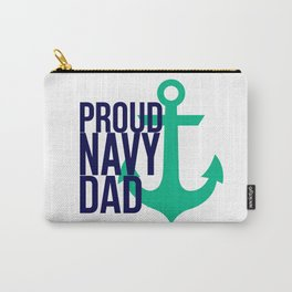 Proud Navy Dad Carry-All Pouch