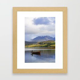 Loch Harport and the Cuillins Framed Art Print