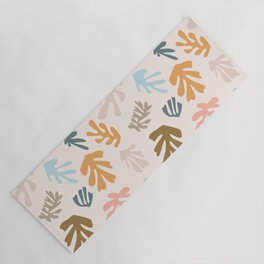 Seaweeds and sand Yoga Mat