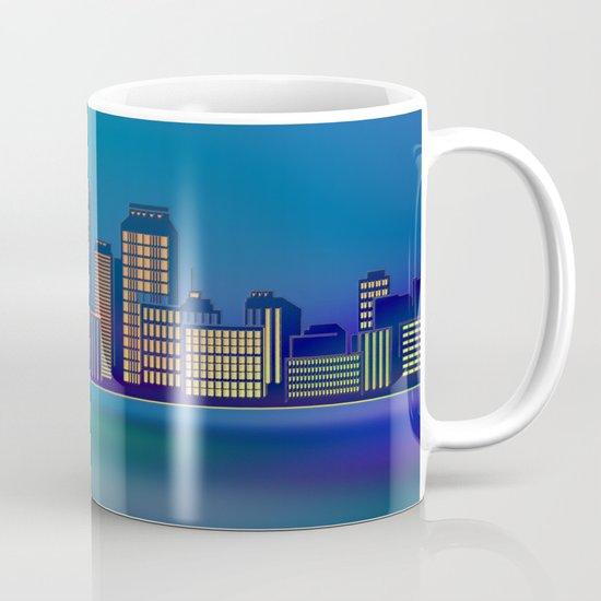 Seaside Cityscape Mug