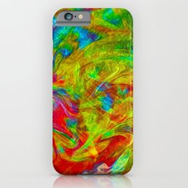 Abstract 2020 f iPhone Case
