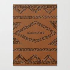 GRATEFULNESS ELM THE PERSON Canvas Print