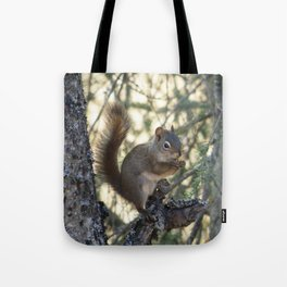 Soldotna Red Squirrel Tote Bag