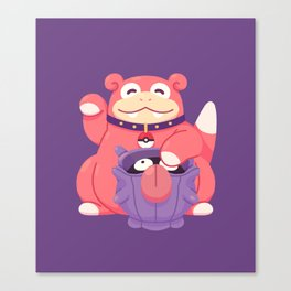 Get Lucky Canvas Print