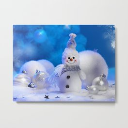 Christmas Cute Photo Metal Print